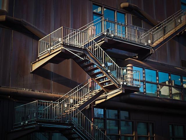schodiště na domě