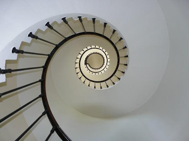 šnekové schodiště